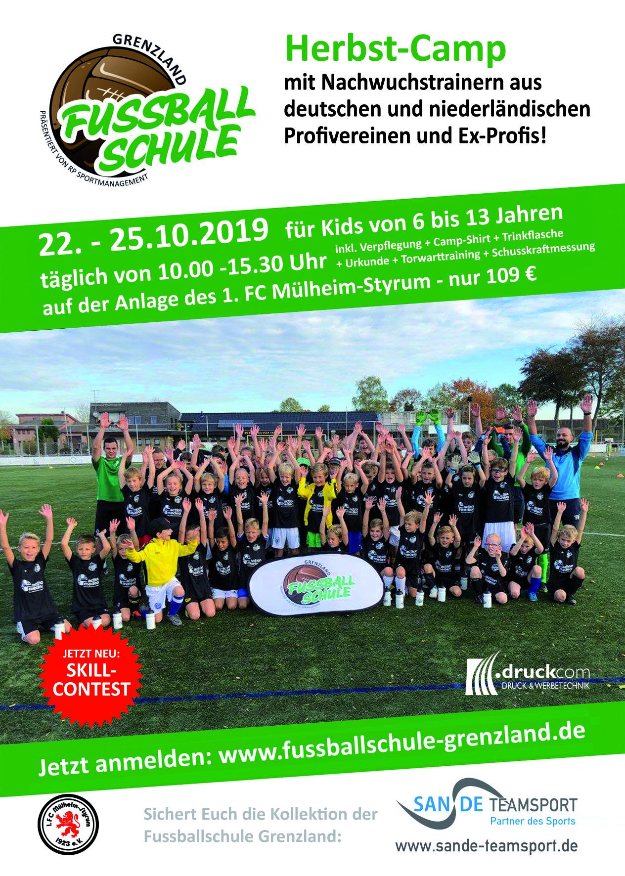 Fußballcamp an der Moritzstraße