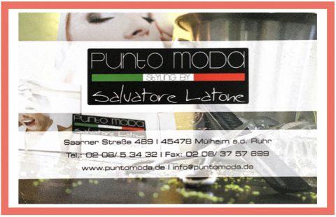 Punto Moda – Partner des 1. FC Mülheim