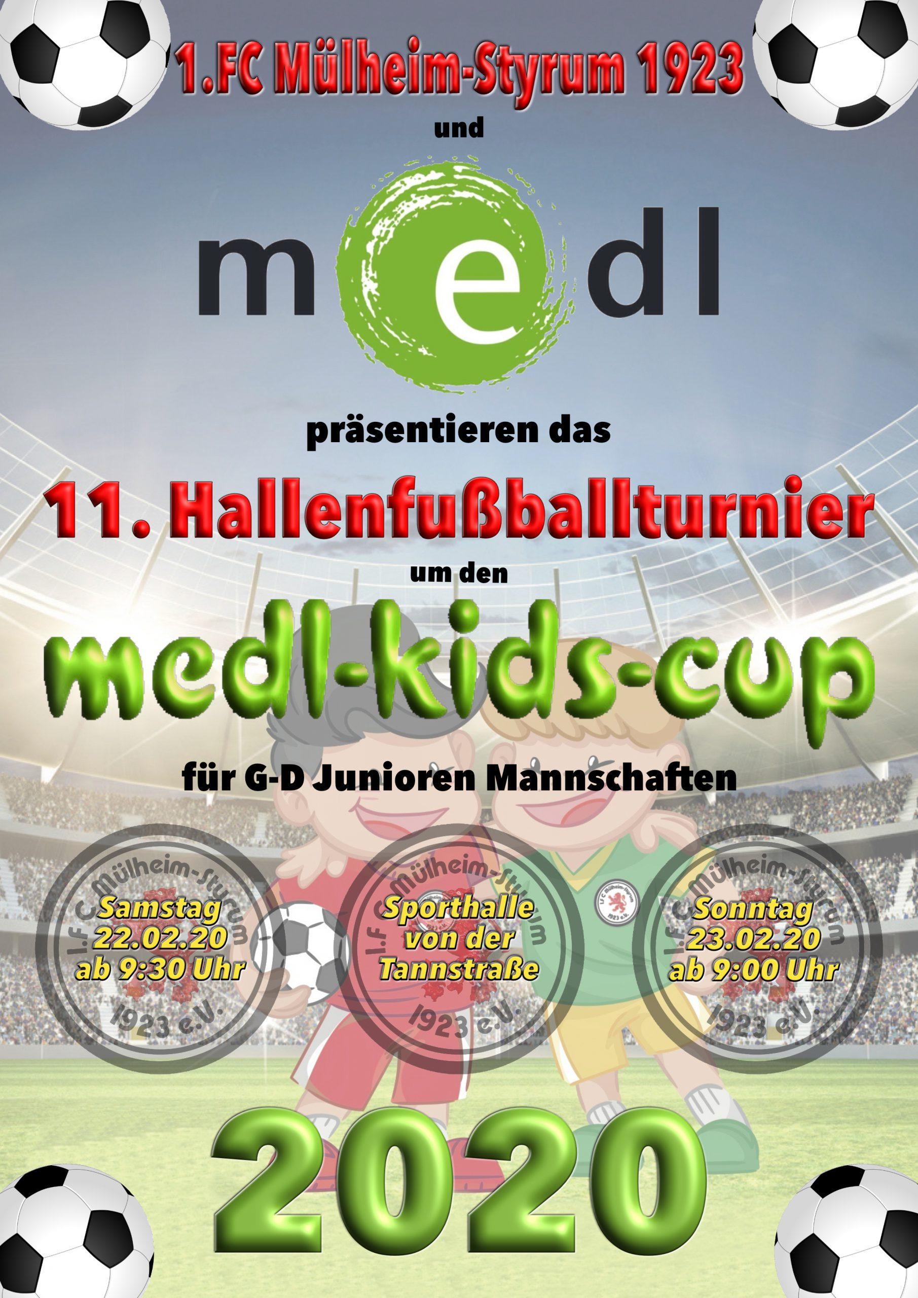 medl-kids-cup am Karneval-Wochenende